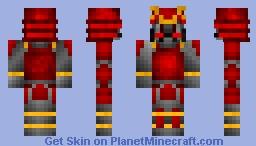 Dark Samurai Minecraft Skin