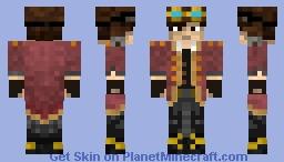 Steam Pilot Minecraft Skin