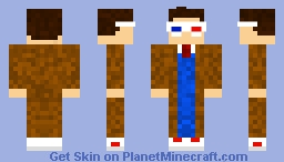10th Doctor  David  Tennant Doctor Who Minecraft Skin
