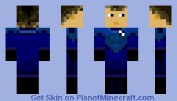 Fantastic Four - Human Torch Minecraft Skin