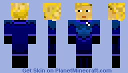 Fantastic Four - Invisible Woman Minecraft Skin