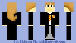Hermione the Wizard Minecraft Skin