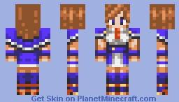 Charlotte Aulin - Castlevania - Portrait of Ruin Minecraft Skin
