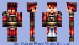 Klein (SAO) Minecraft Skin