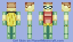 Turns out i like making Robin Minecraft Skin
