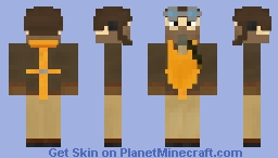 WW2 Pilot [Above the clouds] Minecraft Skin