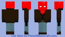 Red Hood (1.8) Minecraft Skin