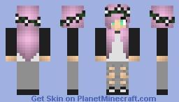 Pastel Goth Minecraft Skin