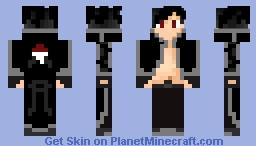 Black surge Minecraft Skin