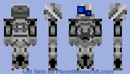 TITANFALL /ATLAS TITAN Minecraft Skin