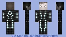 Sam Flynn / TRON LEGACY Minecraft Skin