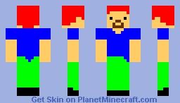 Crazy Dude Minecraft Skin