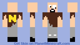 Crazy Notch( HAS NOTCH GONE COCO NUTS) Minecraft Skin