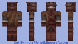 Dark Souls 2 - Vengarls set Minecraft Skin