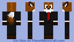 Fur-Suiter Minecraft Skin