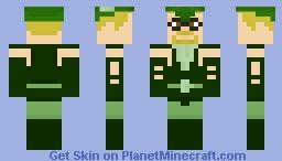 Green Arrow (Justice League) Minecraft Skin
