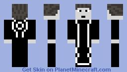 Kevin Flynn - TRON: Uprising Minecraft Skin