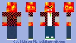 LavaBacca Minecraft Skin