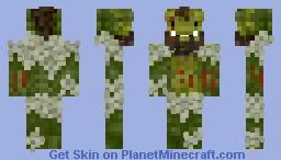 A goblin of Gre'tshed Minecraft Skin