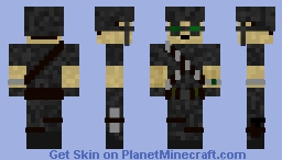 Rebel of the Empire Minecraft Skin
