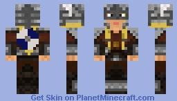 Viking Shieldmaiden Minecraft Skin