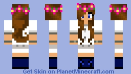 science girl Minecraft Skin