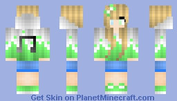 Music Girl Minecraft Skin