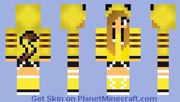 Sexy Girl Pikachu Minecraft Skin
