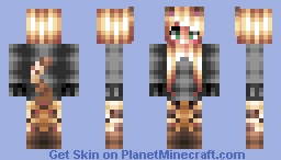 Ocelot Girl -= Mob Girl Series =- Minecraft Skin