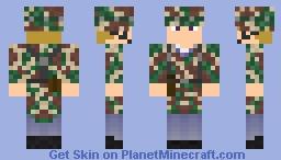 WWII Deutscher Fallschirmjäger Minecraft Skin
