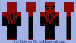 Superior Spider-Man Minecraft Skin
