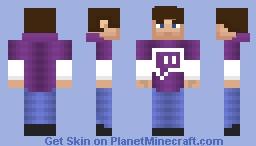 Twitch Hoodie (request) Minecraft Skin