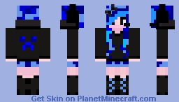 Galaxy Woman Minecraft Skin