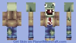 The PVZ Zombie Minecraft Skin