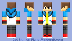Pokemon trainer blocky Minecraft