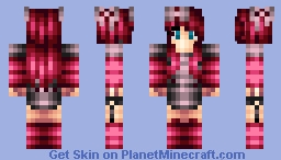 ❥ ❥ вℓα¢к ¢нєяяу -= Ice Cream Skin Series =- Minecraft Skin