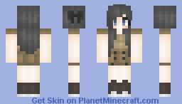 ❥ ❥ Dalek Girl Minecraft Skin