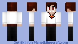 Damien the Vampire Minecraft Skin
