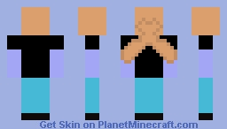 Face Plam Man Minecraft Skin