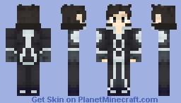 Kirito (SAO) Cloakless Version in Desc + Preview Minecraft Skin