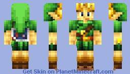 N64 Link (OOT/MM) Minecraft