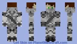 Ninja Wariror. Minecraft Skin