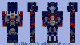Transformers Age Of Extinction-Optimus Prime Minecraft