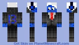 Smurf Minecraft Skin