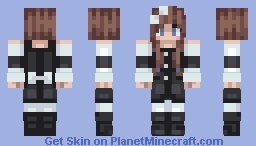 Blocky Maid Kawaiiii Waifu~~ Minecraft Skin