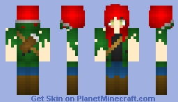 ಉϻιԁಉ Annie, Apocalypse Survivor Minecraft Skin