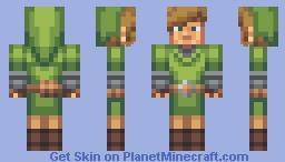 Link / Legend of Zelda Minecraft Skin