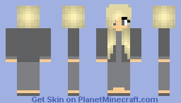 Abnegation Girl Divergent Minecraft Skin