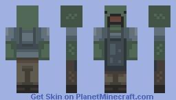 Zambie shopkeeper (Inspired by 'Unturned') Minecraft Skin