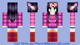 Ambee (still as a kitten) Minecraft Skin